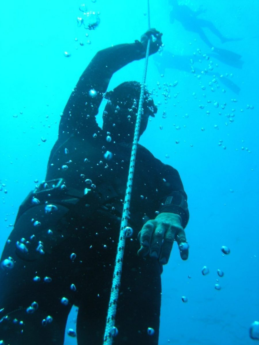 Free diving center